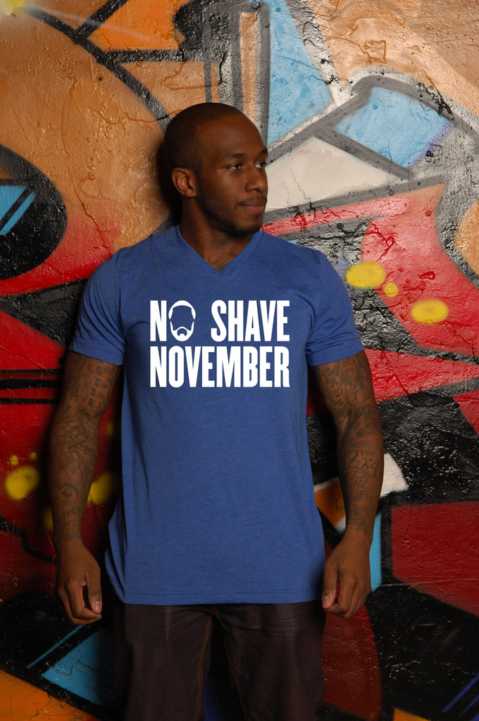 No Shave November Vee - Simple Stature