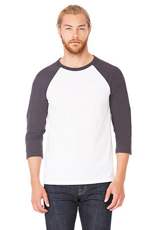 Colorblock 3/4 Sleeve Baseball Tee - Simple Stature