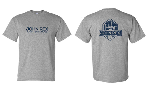 JRC Logo - Adult - Sport Grey - SS Shirt