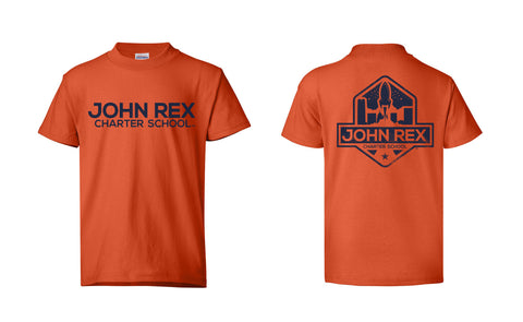 JRC Logo - Youth - Orange - SS Shirt