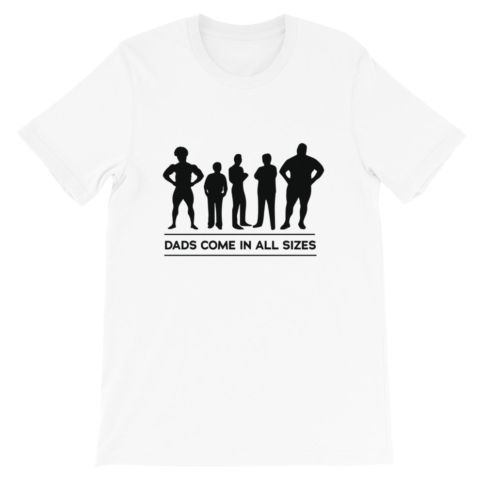 Camisa - Dads Come In All Sizes - Papápresente