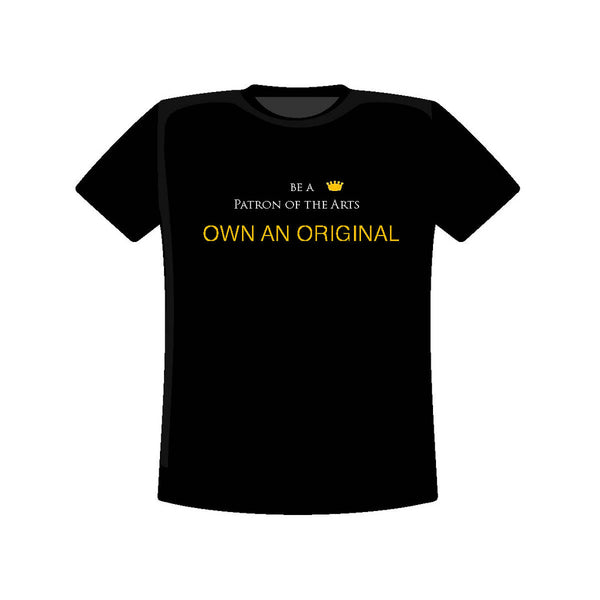 PATRON OF ART T: OWN AN ORIGINAL