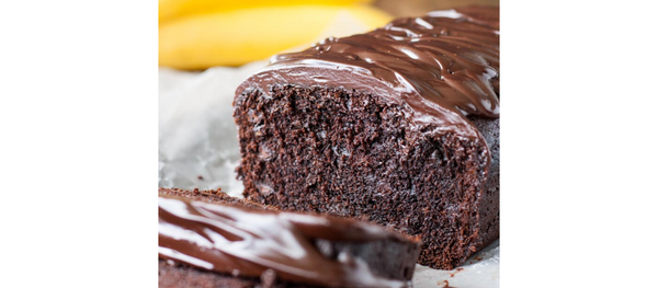 RECIPE: Keto Chocolate Bread with Chocolate Drizzle