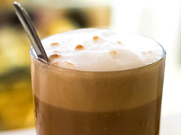 RECIPE: Chocolate Egg Cream Smoothie