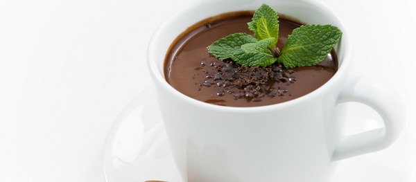 RECIPE: Mint Hot Chocolate