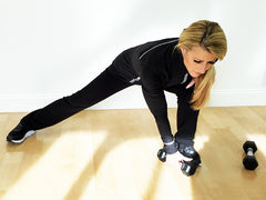 Side Lunge With Twist