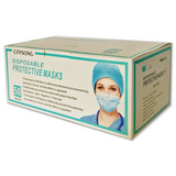CITYSONG DISPOSABLE PROTECTIVE MASKS 50 CT -BLUE
