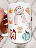 Original All The Fall Things Mug
