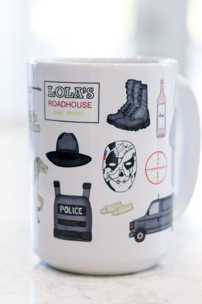 The Punisher Inspired Mug