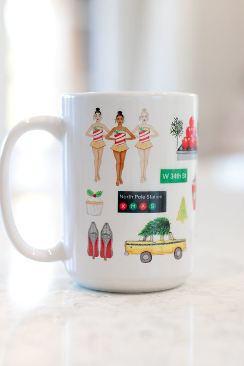 New York City Christmas Mug