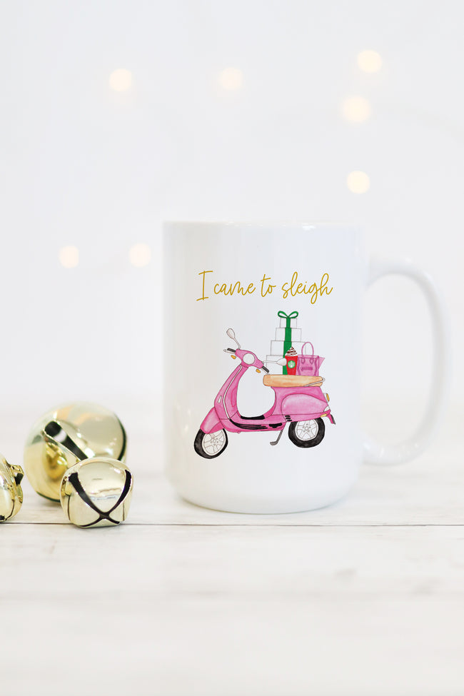 I Came To Sleigh Mug