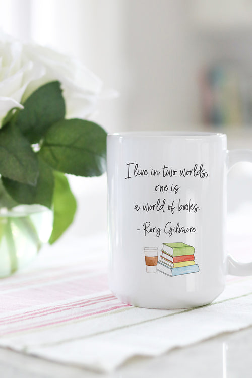I Live In Two Worlds Mug