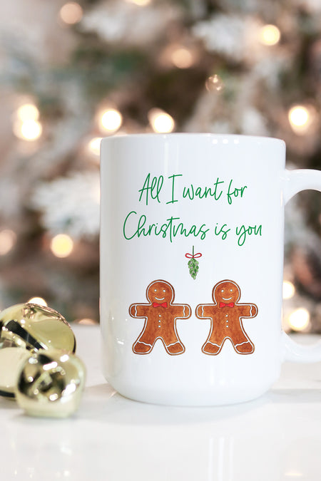 Glam Christmas Mug - Red