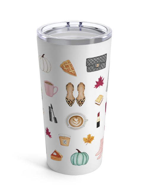 New All The Fall Things Tumbler