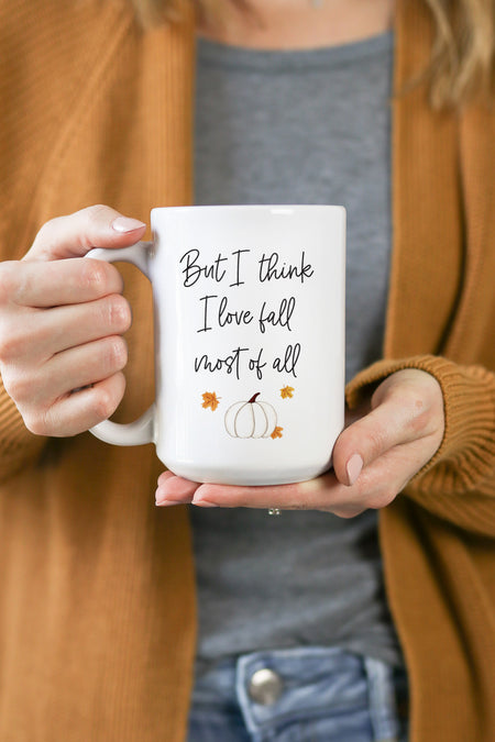 Christmas Morning Person Watercolor Mug