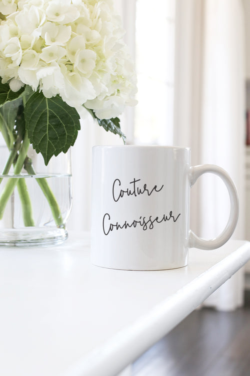 couture connoisseur mug kelly elizabeth designs