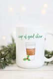 Cup Of Good Cheer Mug - Latte