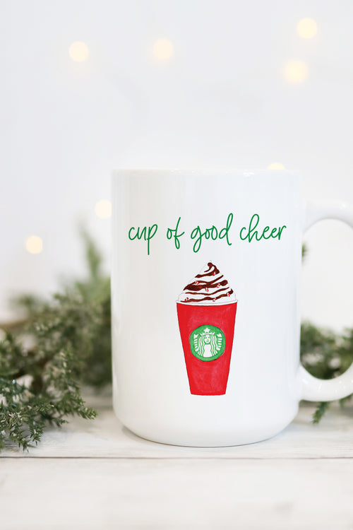 Cup Of Good Cheer Mug - Peppermint Mocha