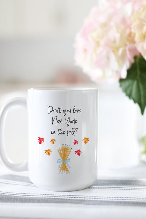 Don't You Love New York In The Fall? Mug