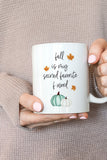 Fall Is My Second Favorite F Word Mug