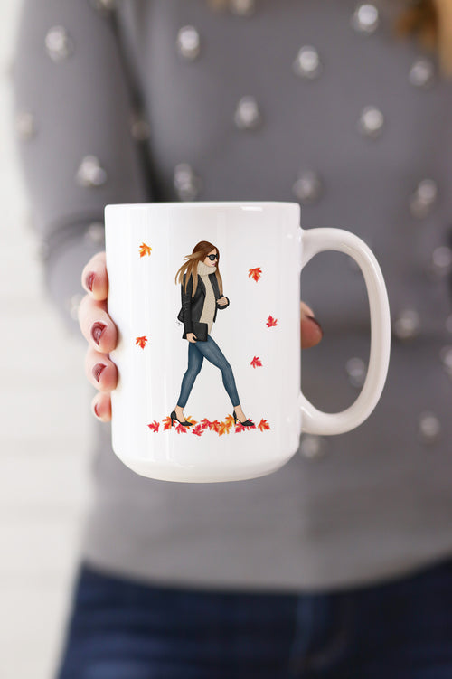 Fall Glam Girl Mug