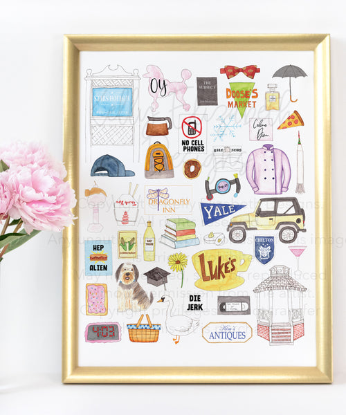 Gilmore Girls Art Print