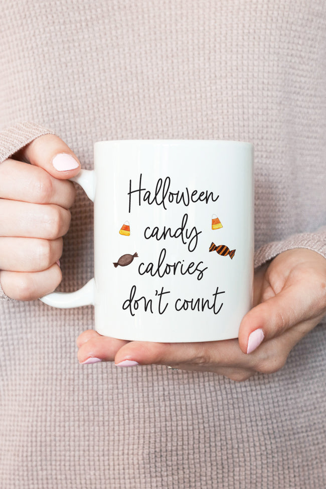 Halloween Candy Calories Don't Count Mug