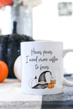 Hocus Pocus I Need More Coffee To Focus Mug