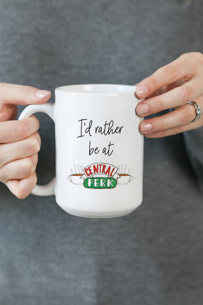 I'd Rather Be At Central Perk Mug