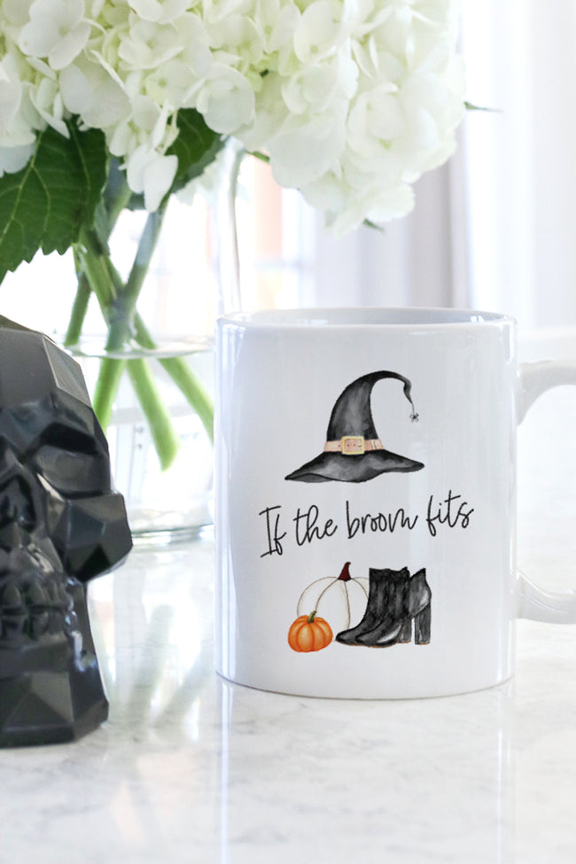 If The Broom Fits Mug
