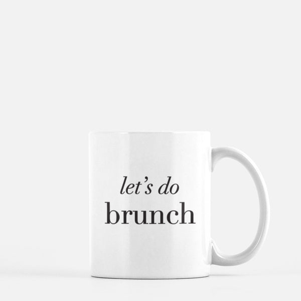 Let's Do Brunch Mug