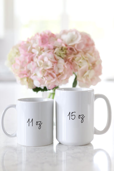 Stop And Smell The Peonies Mug
