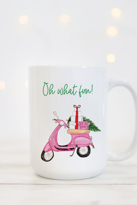 Oh What Fun Mug - Beetle