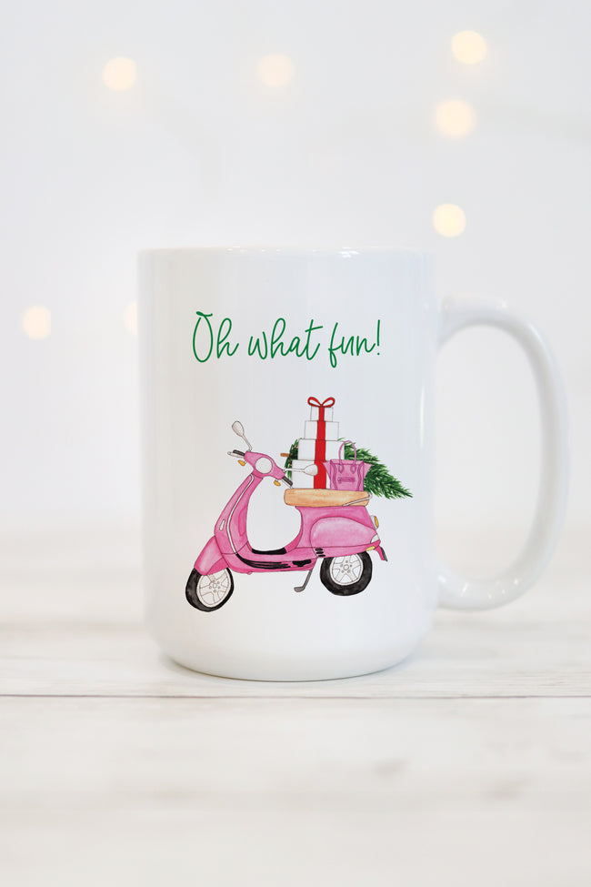 Oh What Fun Mug - Scooter