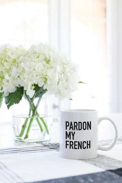 pardon my french mug kelly elizabeth designs