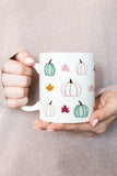 Watercolor Pumpkins Mug