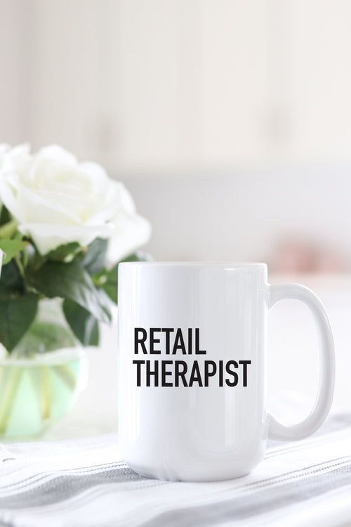 Retail Therapist Mug
