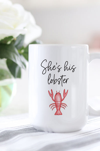 She's His Lobster Mug