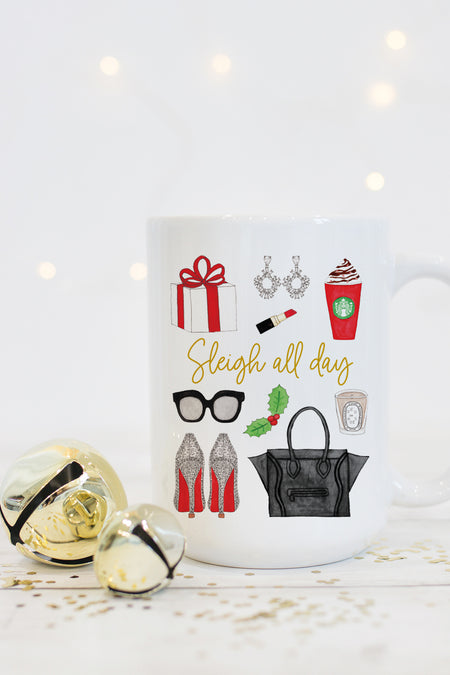 It's All Fun And Games Until You End Up On The Naughty List Mug