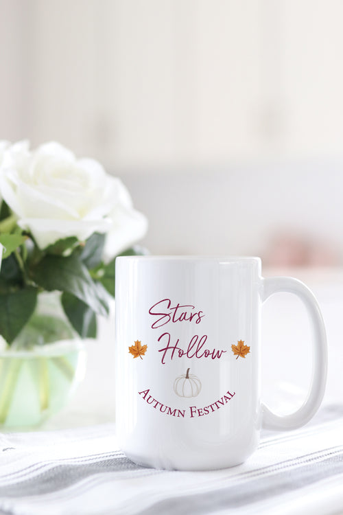 Stars Hollow Autumn Festival Mug