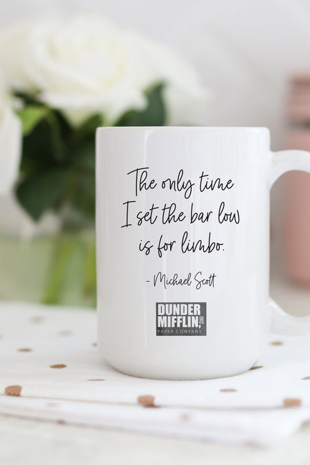 Michael Scott's Dunder Mifflin Scranton Meredith Palmer Memorial Celebrity Rabies Awareness Pro-Am Fun Run Race For the Cure Mug