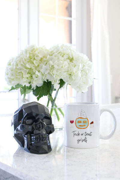 Trick Or Treat Yo'self Mug