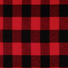 Load image into Gallery viewer, Christmas Jammies skirt (red buffalo plaid)