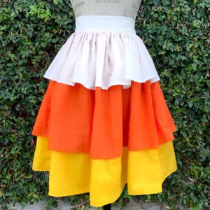 Candy Corn Skirt (pre-sale)