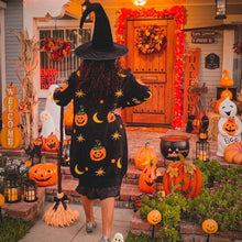 Load image into Gallery viewer, Pumpkin Witch Cardigan