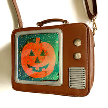 Load image into Gallery viewer, Pumpkin TV Bag