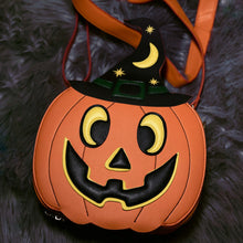 Load image into Gallery viewer, Pumpkin Witch Bag