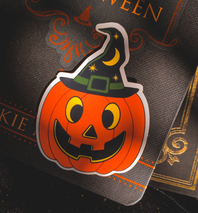 Pumpkin Witch sticker
