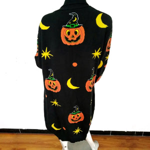 Pumpkin Witch Cardigan