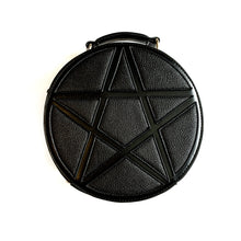 Load image into Gallery viewer, Black Pentagram Concha Bag
